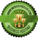 Business Hosting Award 2012 - WebHostingClue.com