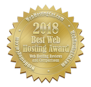 Best Web Hosting Award - WebHostingCat.com