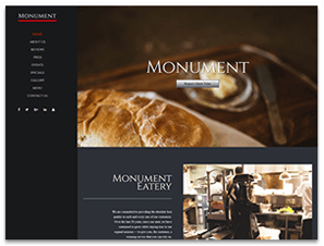 Monument Theme Screenshot