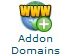 cpanel addon domains icon