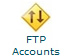 cpanel ftp accounts icon