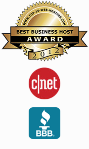 Better Business Bureau and CNET logos