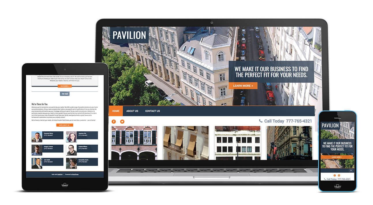 Pavilion Design | Create a Beautiful Website