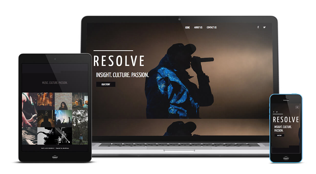 Resolve Design | InMotion Hosting Website Builder