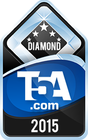 Diamond Award 2015 - TopFiveAwards.com