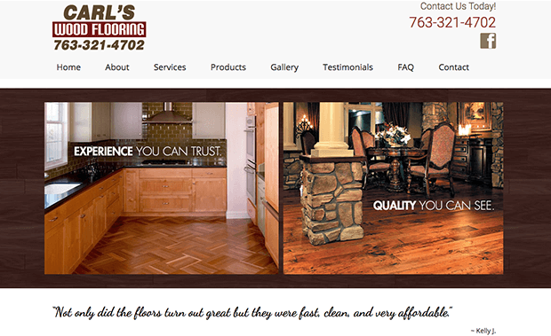 Above & Beyond Hardwood Flooring