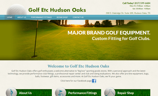 Golf Etc Hudson Oaks