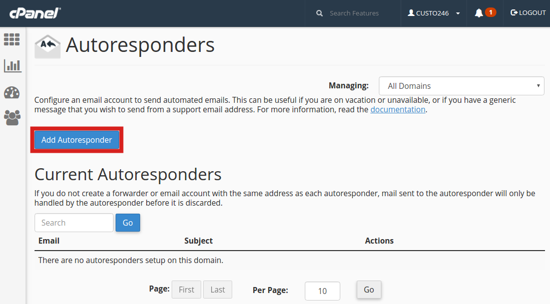How to Setup an Email AutoResponder in cPanel | InMotion Hosting