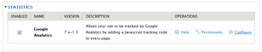 enable-google-analytics-module