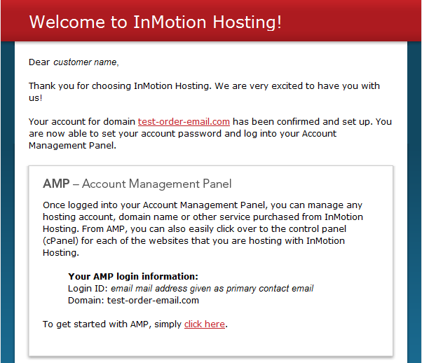 New Users: Finding your login information - InMotion Hosting