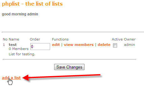 php-list-admin-create-lists-add-a-list