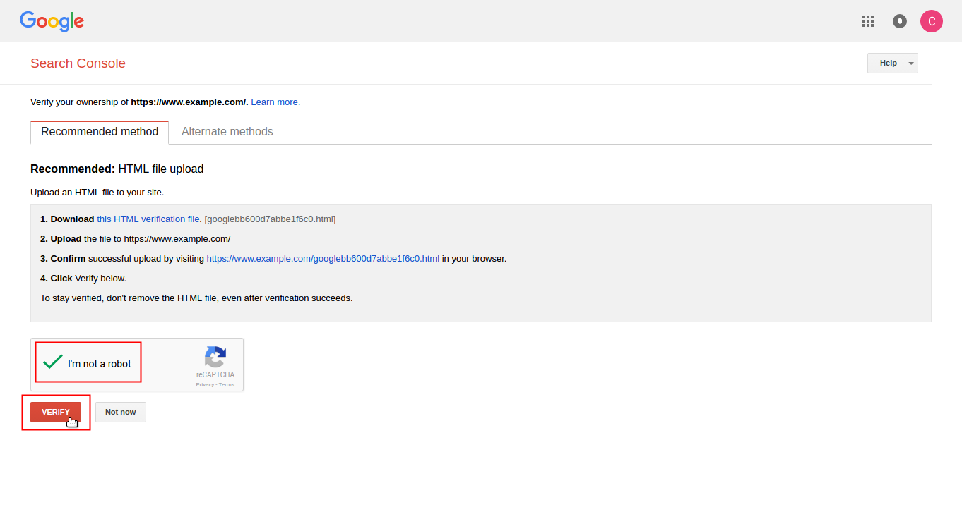 introduction to google search console inmotion hosting