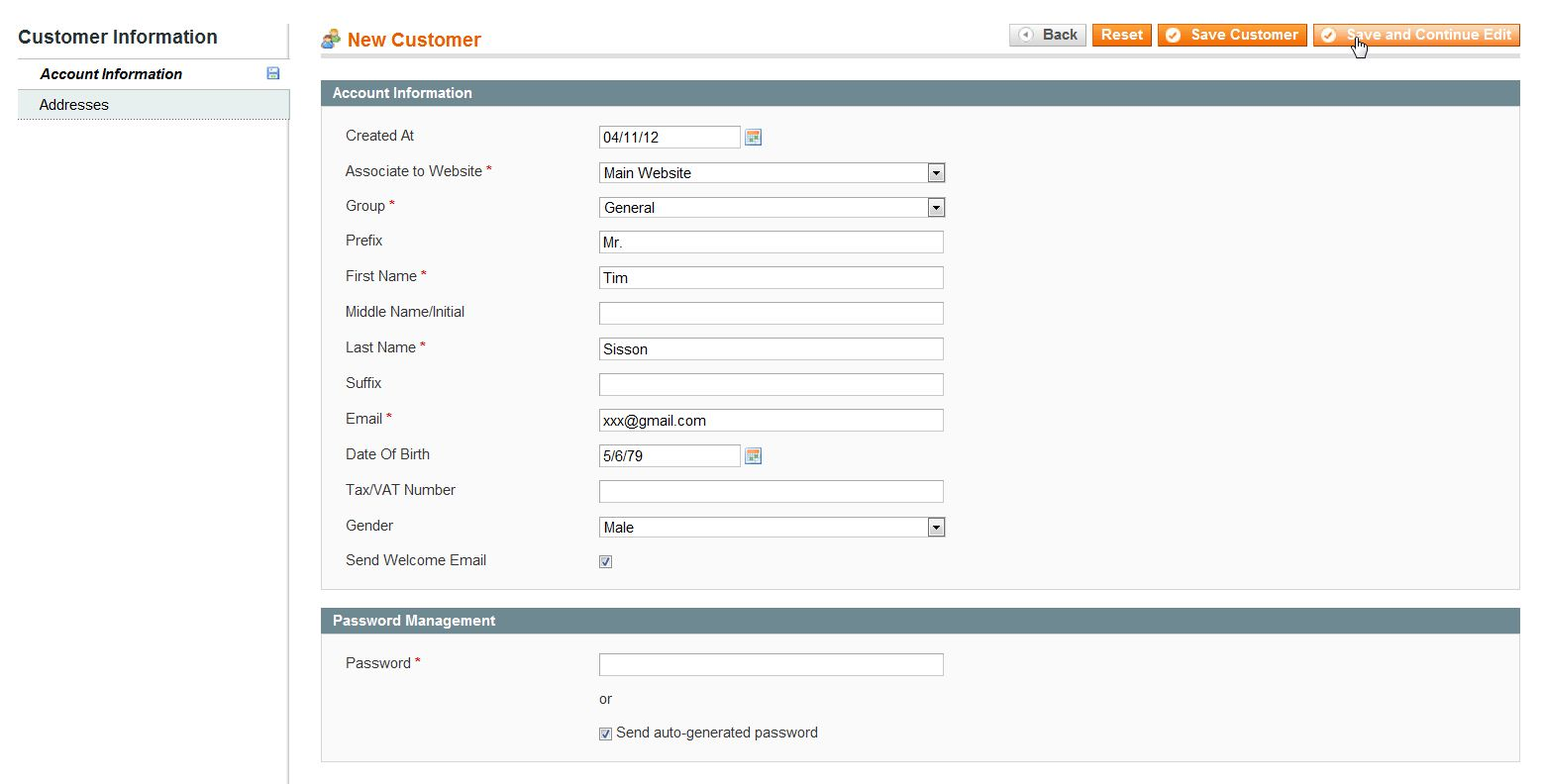 Customer account create/ - Magento_new_customer_2
