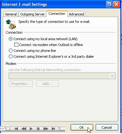How to Check your Email with Microsoft Outlook 2007 | InMotion Hosting
