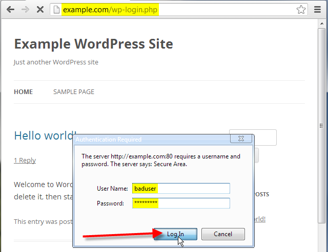Prevent unauthorized WordPress Administrator Login Attempts ...