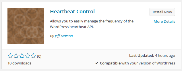 WordPress Heartbeat and Heavy admin-ajax.php Usage | InMotion Hosting