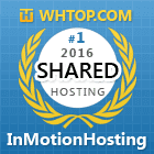 Number one in Shared hosting 2016 - whtop.com