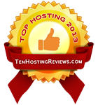 Top Hosting 2013 - tenhostingreviews.com