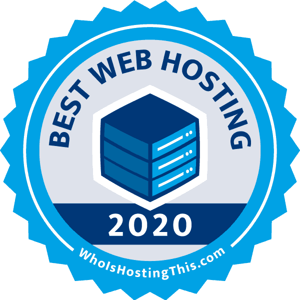 Best Web Hosting Services of 2020, recognized for Best Web Hosting