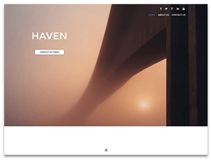 Haven Theme Screenshot