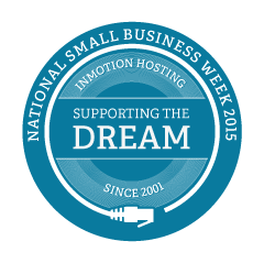 National Small Business Week 2015 - InMotion Hosting has been supporting the small business dream since 2001