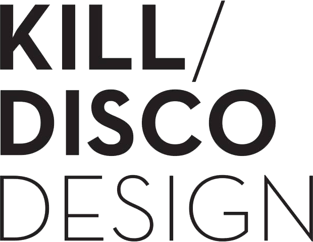 kill disco design logo