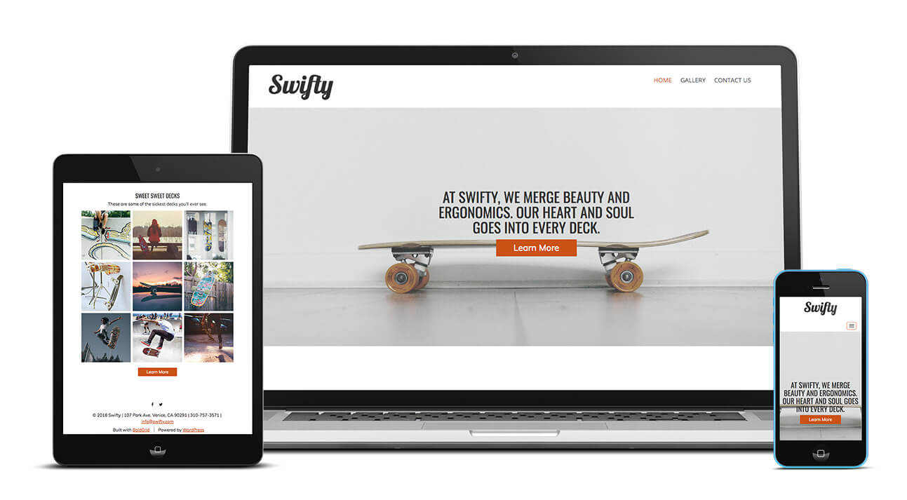 Swifty Design | Easy Website Creator