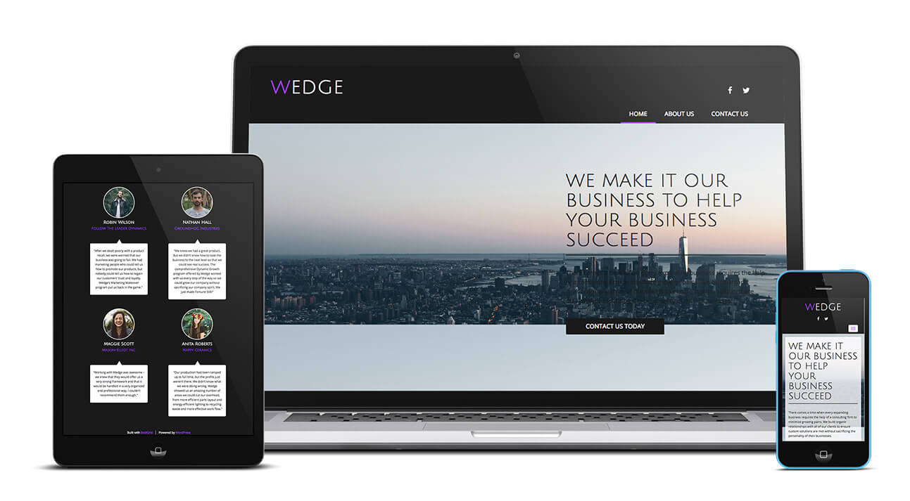 Wedge Design | Build Your Own Website