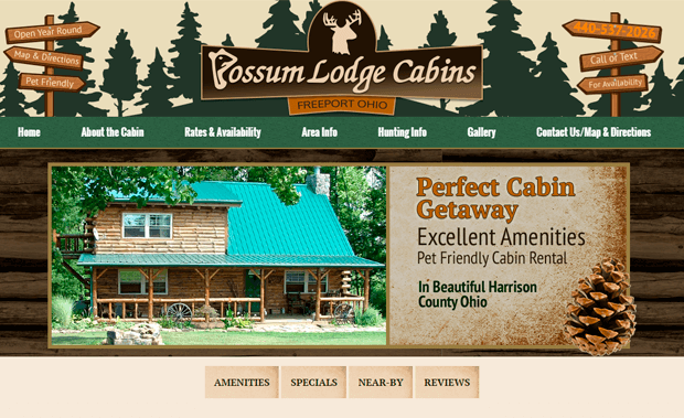 Possum Lodge Cabins