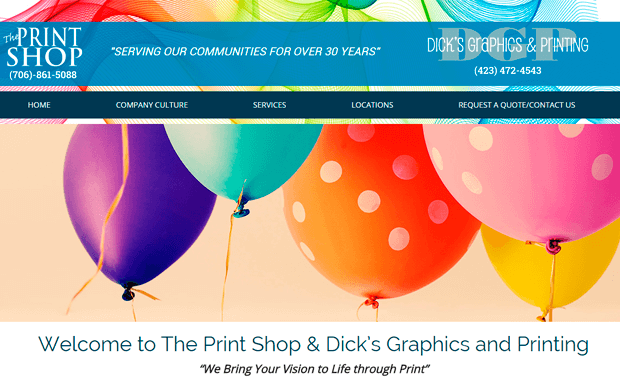 Dick's Graphics & Printing