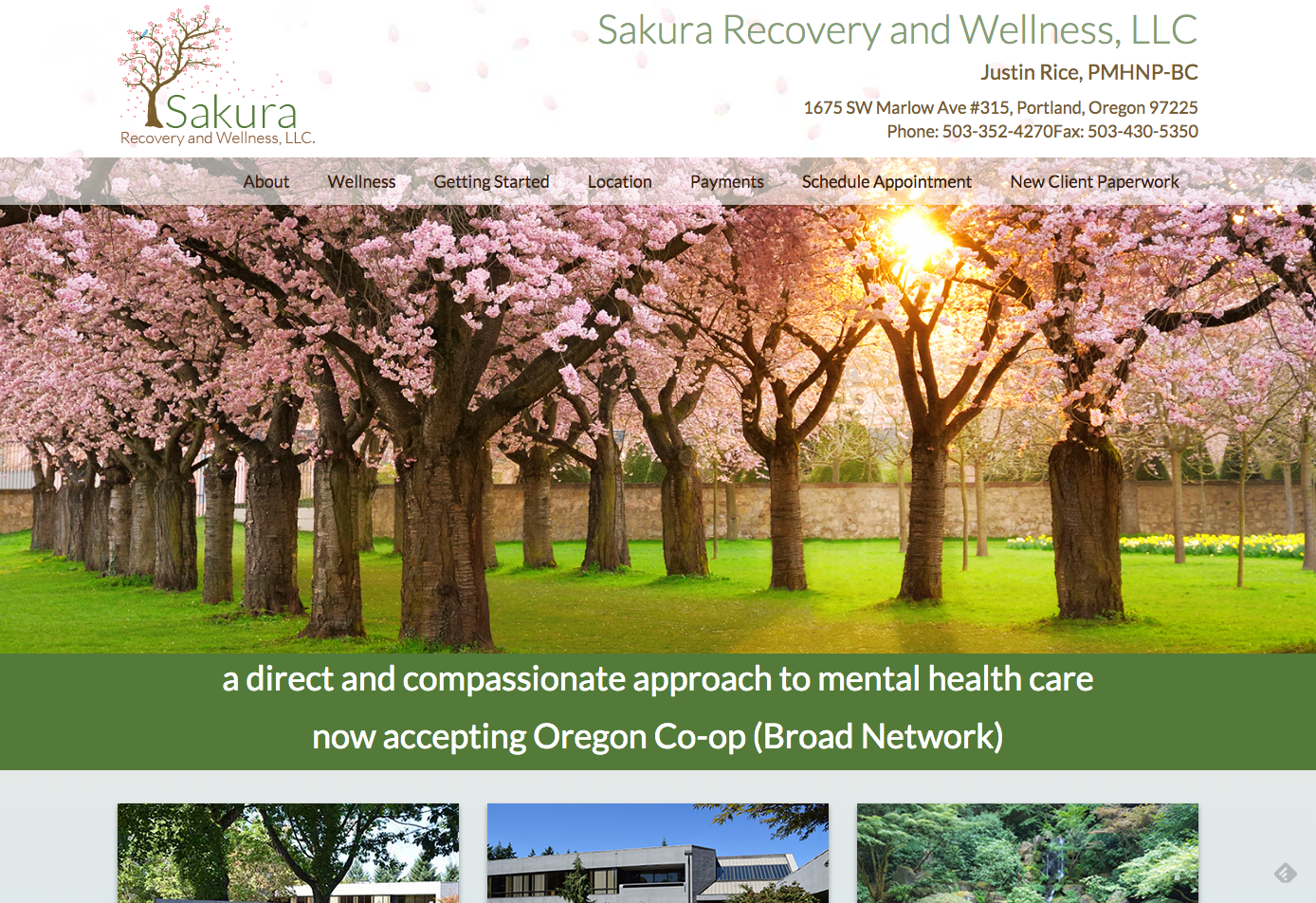 Sakura Recover and Wellness, LLC.