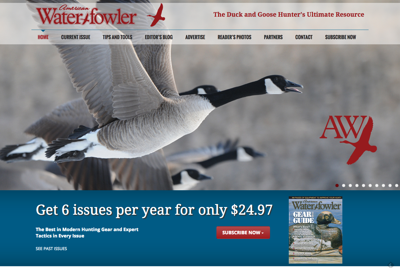 Waterfowler Magazine