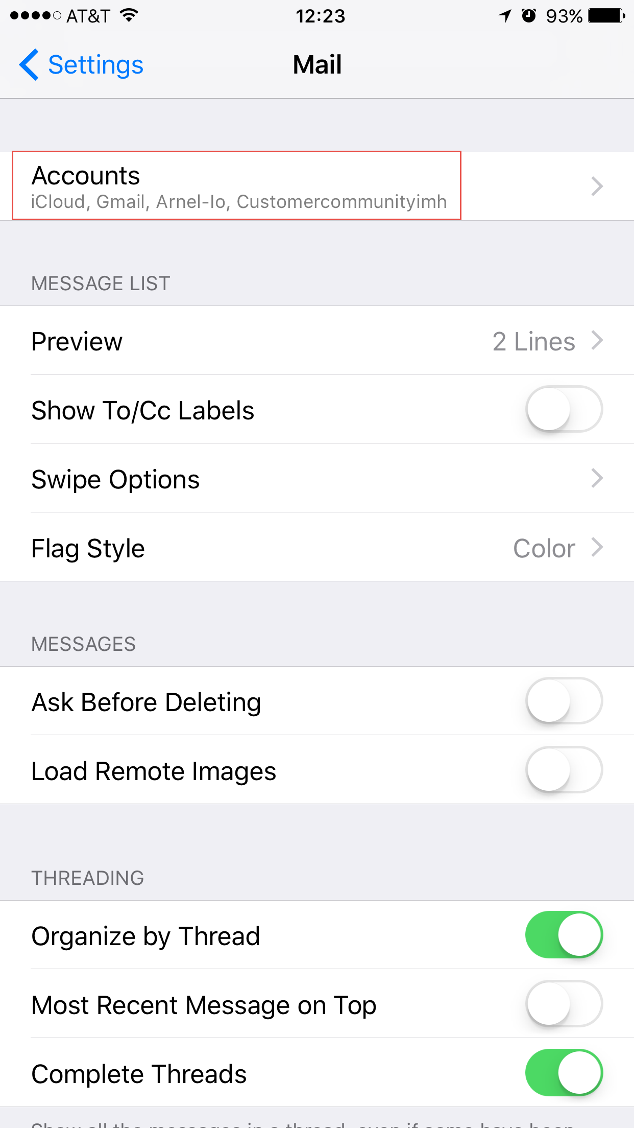 How to fix the server error with iphone mail or other ios mail tap on accounts xflitez Image collections