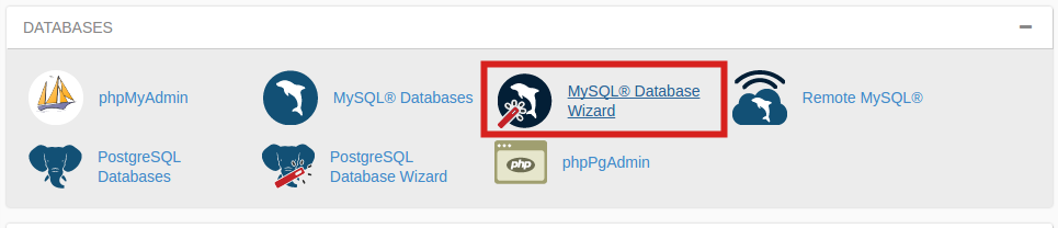 cpanel-click-on-database-wizard