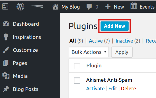 Adding the NGINX Helper plugin