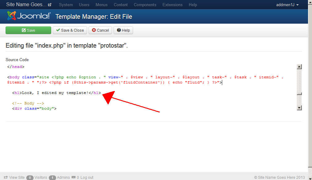 How to edit a Joomla 3 template | InMotion Hosting