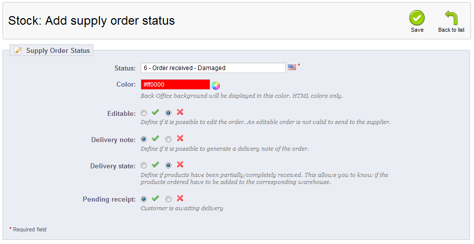 add-supply-order-status