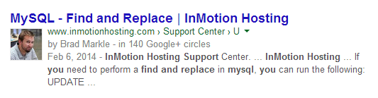google authorship contributor