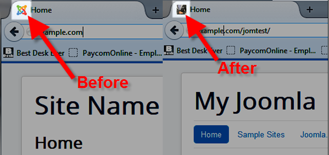 Changing joomla 3 favicon