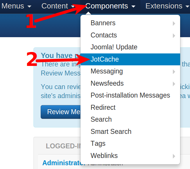 Joomla 3 caching Extension