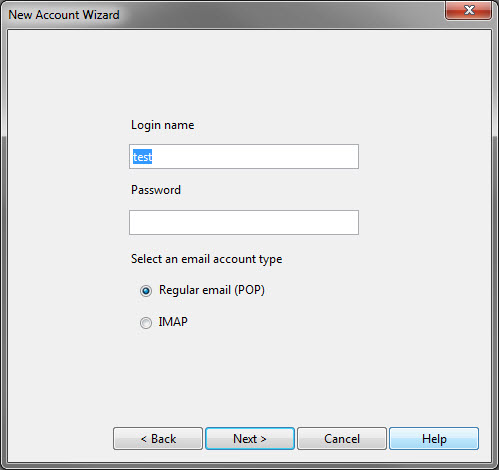 new account wizard-step 3