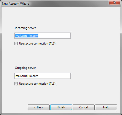 new account wizard-step 4