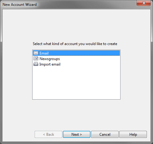 new account wizard-step1