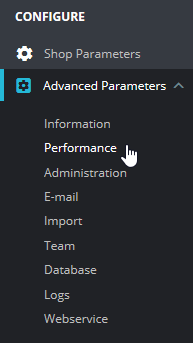 Press Performance under Advanced Parameters