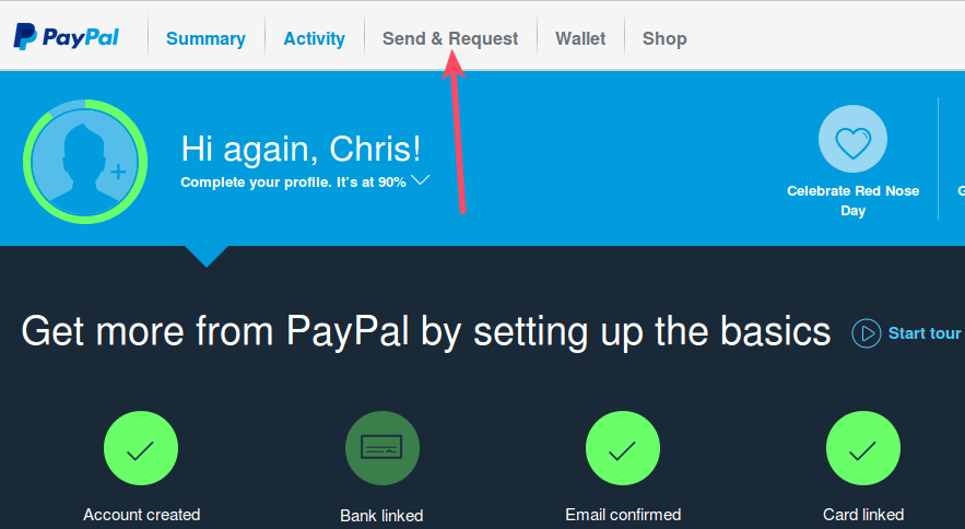 How To Send An Invoice Through PayPal InMotion Hosting - How do i send an invoice through paypal