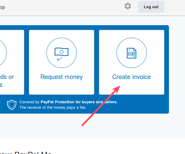 How To Send An Invoice Through PayPal InMotion Hosting - How to create an invoice paypal