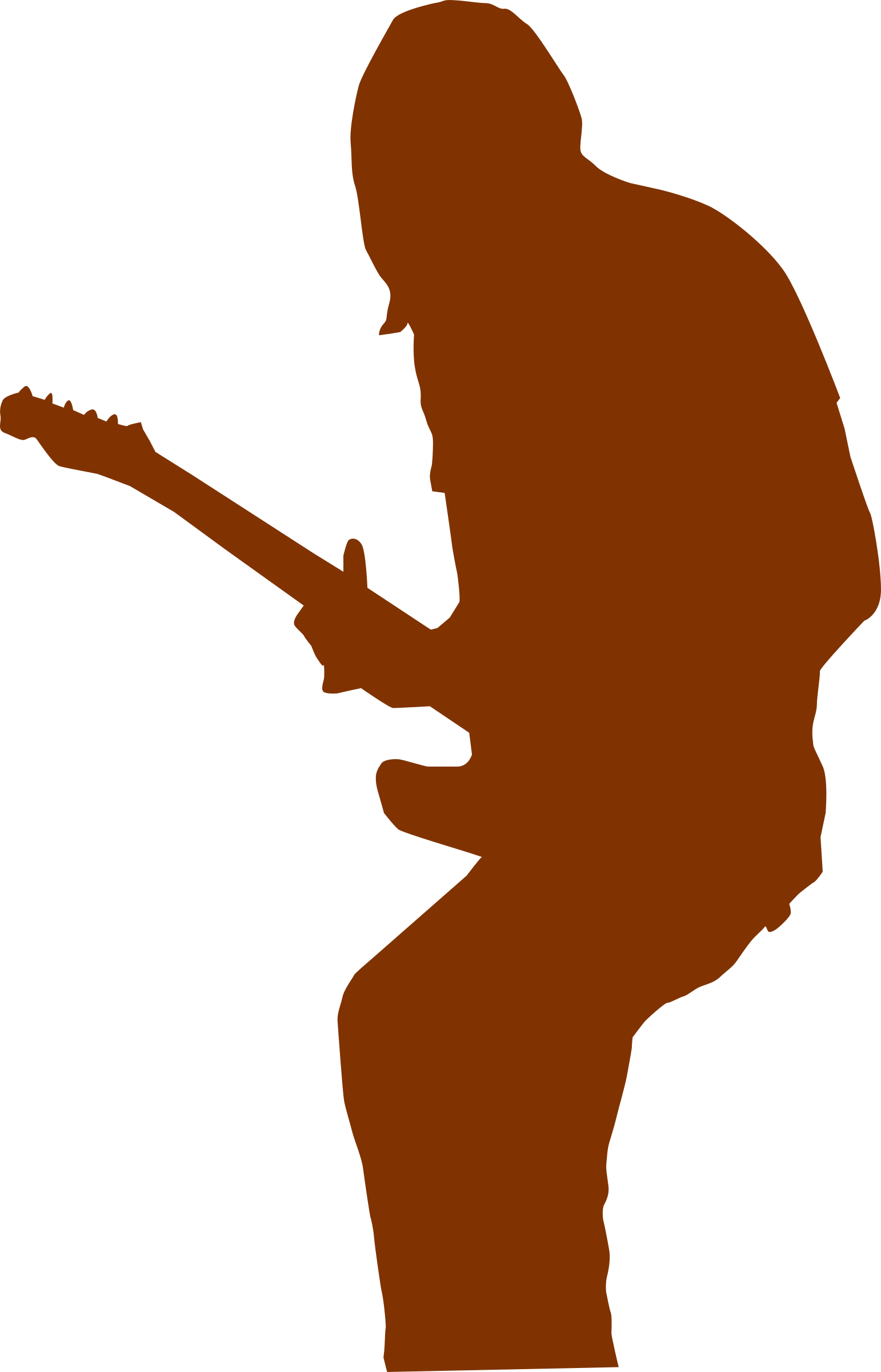 guitar player openclipart