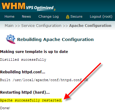 whm-apache-successfully-restarted