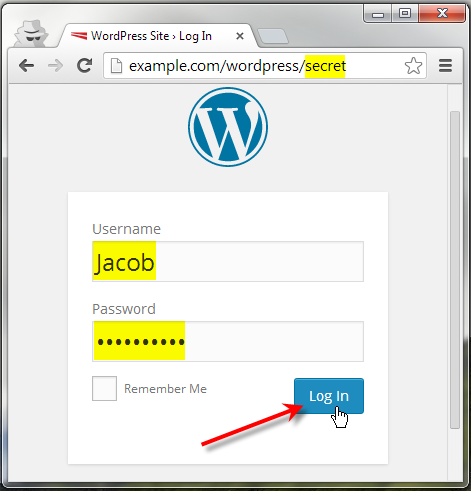 ... Login Page Without a Plugin. undefined