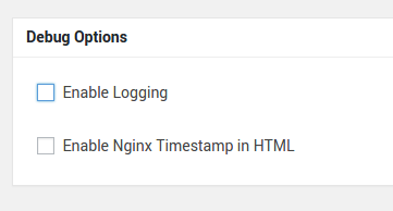 Nginx Helper log